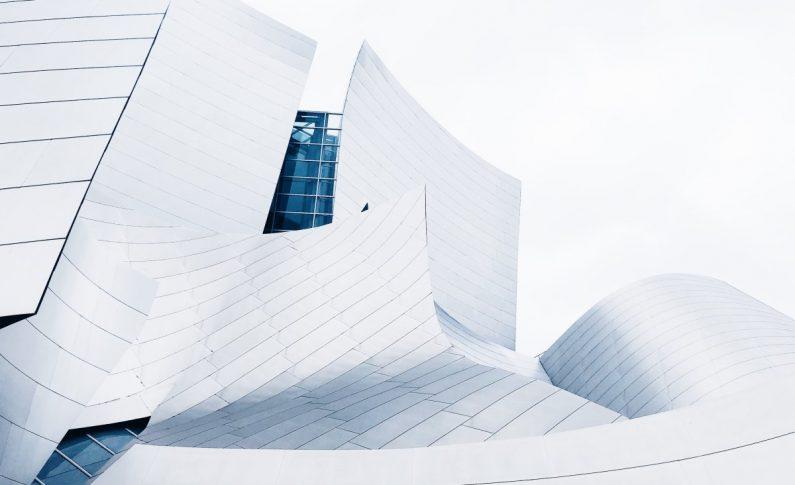 A Modern Geometric Building Design