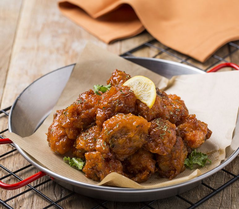 Spicy And Crunchy Chicken Wings