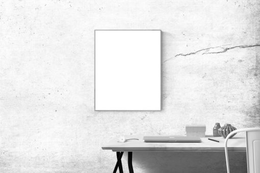A Blank Poster In My Room